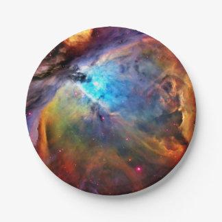オリオンの星雲 ペーパープレート