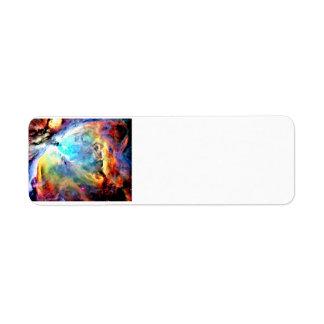 オリオンの星雲 ラベル