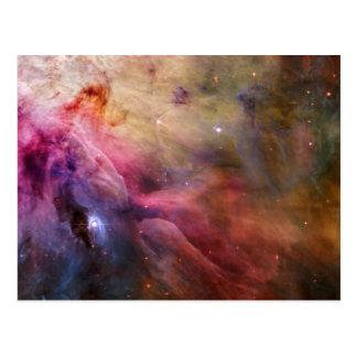オリオンの星雲M42 ポストカード