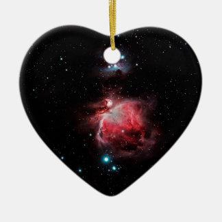オリオンの素晴らしい星雲 セラミックオーナメント
