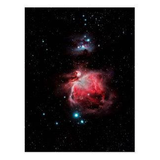 オリオンの素晴らしい星雲 ポストカード
