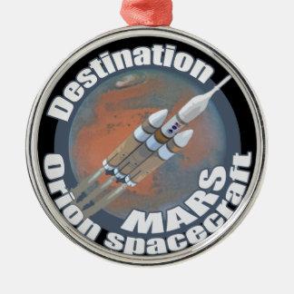 オリオンの行先の火星 メタルオーナメント