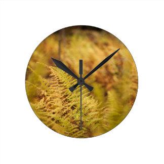 オリジナルによって森林インスパイア時計 ラウンド壁時計
