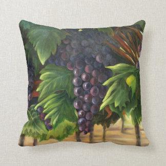 オリジナルのアートワークが付いているブドウの枕 クッション