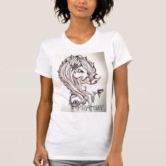 オリジナルのアートワークのティー Tシャツ