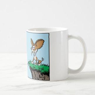 オリジナルのサーベルの歯のチワワのコーヒー・マグ コーヒーマグカップ