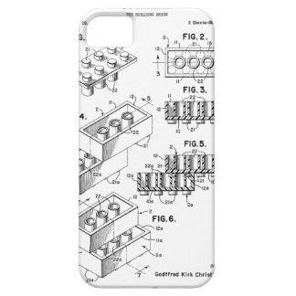 オリジナルの建物の煉瓦パテントのiPhoneの場合 iPhone SE/5/5s ケース