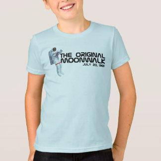 オリジナルのMoonwalkはワイシャツをからかいます Tシャツ