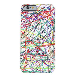 オリジナルはiphoneの箱を着色します barely there iPhone 6 ケース