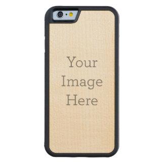 オリジナルを作成 CarvedメープルiPhone 6バンパーケース