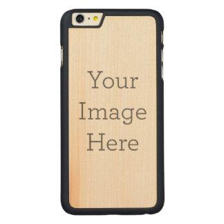 オリジナルを作成 CarvedメープルiPhone 6 PLUS スリムケース