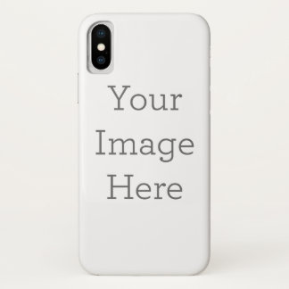 オリジナルを作成 iPhone X ケース