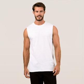 オリジナルメンズ袖なしシャツをデザイン 袖なしシャツ