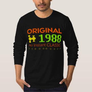 オリジナル1988年即刻のクラシックな誕生日のティー Tシャツ