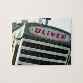 オリバーのトラクターのパズルのユニークなギフトのアイディア ジグソーパズル