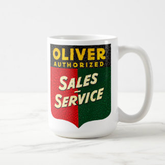 オリバーのトラクターのヴィンテージの販売およびサービス印 コーヒーマグカップ