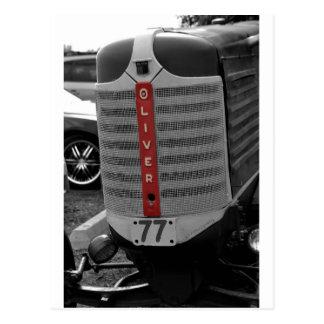 オリバーのトラクター ポストカード
