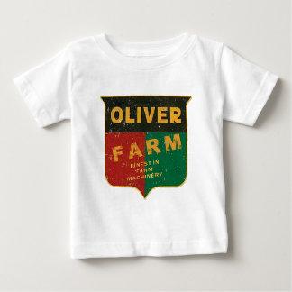 オリバーの農業 ベビーTシャツ