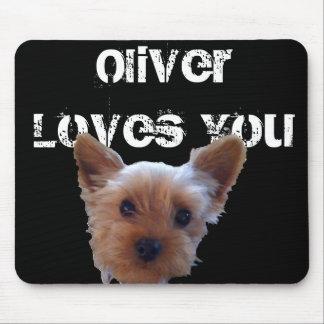オリバーはYouyを愛します マウスパッド