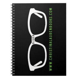 オリバーガラスの螺線形ノート ノートブック