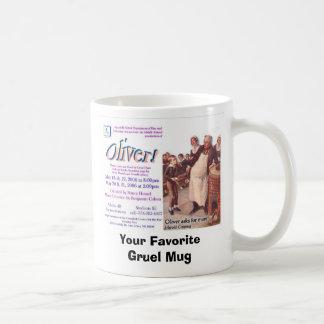 オリバー! 、あなたのお気に入りのなお粥のマグ コーヒーマグカップ