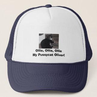 オリバー、Ollie、Ollie、Ollie私の猫オリバー! キャップ