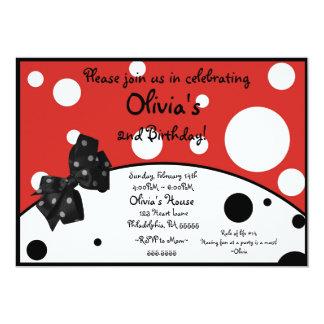 オリビアブタの刺激を受けたな招待状 カード