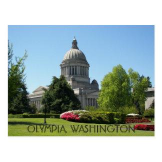 オリンピア、ワシントン州旅行写真 ポストカード