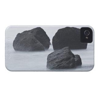 オリンピックルビー色のビーチの3つの大きい大きい石 Case-Mate iPhone 4 ケース