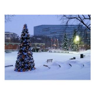オリンピック広場、カルガリー、アルバータ ポストカード