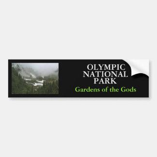 オリンピック、公園国民、IMG_2155の庭の… バンパーステッカー
