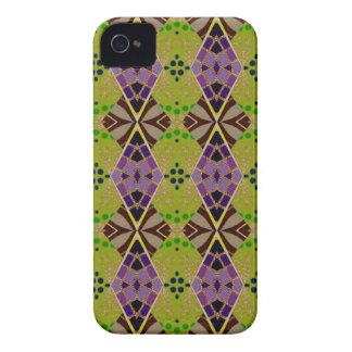 オリーブによって着色されるパターンが付いている携帯電話の箱 Case-Mate iPhone 4 ケース
