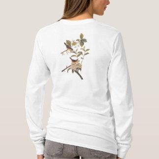 オリーブのメリーランドのYellowthroatのAudubonの鳥 Tシャツ
