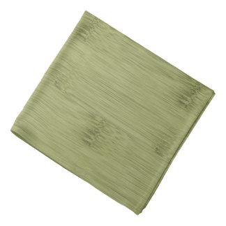 オリーブ色のモスグリーン木穀物のタケの一見 バンダナ
