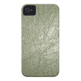 オリーブ色のレザールックのiPhone 4/4s Case-Mate iPhone 4 ケース
