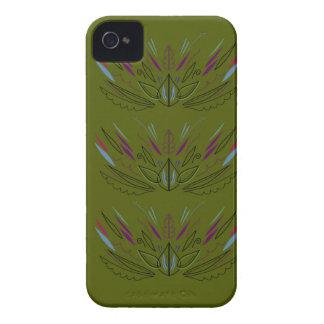 オリーブ色の版 Case-Mate iPhone 4 ケース