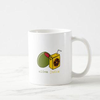 オリーブ色ジュース コーヒーマグカップ