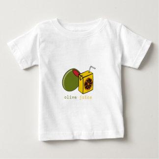 オリーブ色ジュース ベビーTシャツ