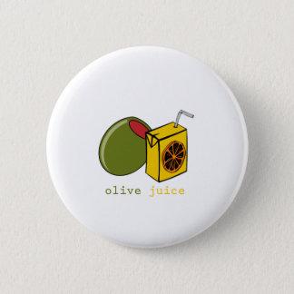 オリーブ色ジュース 缶バッジ