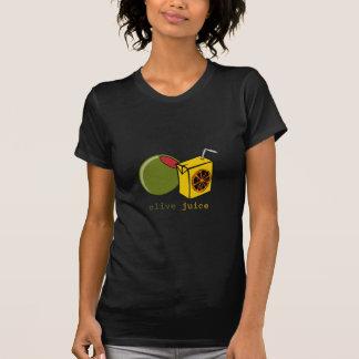 オリーブ色ジュース Tシャツ
