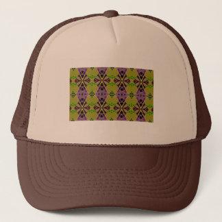 オリーブ色パターンが付いているトラック運転手の帽子 キャップ