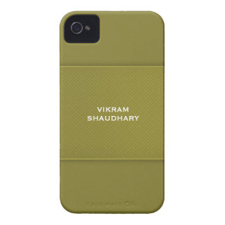オリーブ色色のiPhone 4/4Sの穹窖やっとそこに Case-Mate iPhone 4 ケース