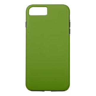 オリーブ色(無地)の~ iPhone 8 PLUS/7 PLUSケース