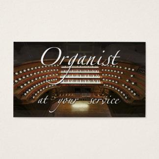 オルガン奏者の名刺-あなたのサービスの… 名刺