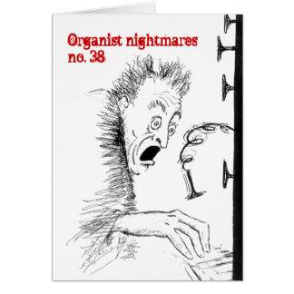 オルガン奏者の悪夢no.38の空白のなカード カード