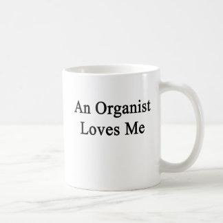 オルガン奏者は私を愛します コーヒーマグカップ