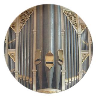 オルガン管のプレート-シドニー市庁舎器官 プレート
