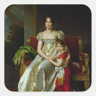 オルタンス・ド・ボアルネおよび彼女の息子 スクエアシール