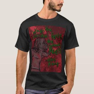 オルダス・ハクスリーの引用文のワイシャツ Tシャツ