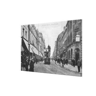 オルダム通り、マンチェスター、c.1910 キャンバスプリント